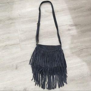 Brampton London suede leather purse